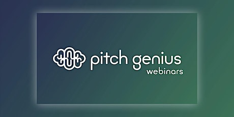 Pitch Decks for Early Stage Startups, hosted by Pitch Genius bilhetes