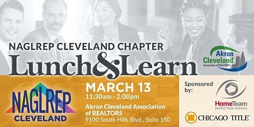 NAGLREP Cleveland Lunch & Learn March 13
