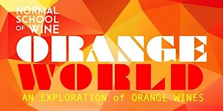 SEMINAR - ORANGE WORLD:  An Exploration of Orange Wines tickets