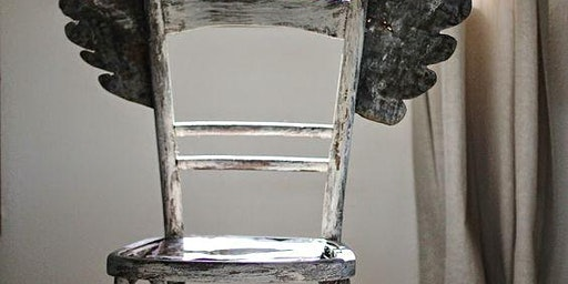 """Artfully transform a chair to one with """"personality""""; A DIY workshop"""