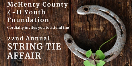 22nd Annual String Tie benefiting the McHenry County 4-H Youth Foundation tickets