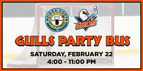 Pizza Port's  San Diego Gulls Party Bus tickets