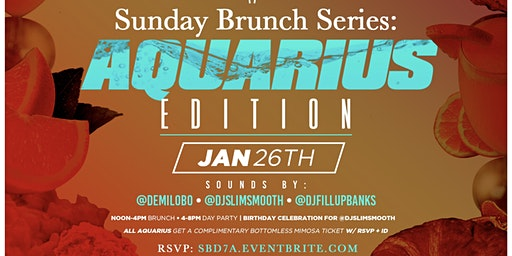District 7 DTLA Sunday Brunch Series: Aquarius Edition