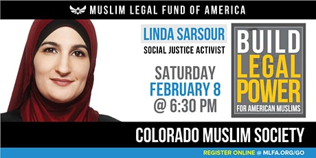 Build Legal Power for American Muslims with Linda Sarsour - Denver, CO tickets