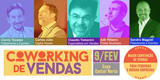 Coworking de Vendas -2a Convenção de Vendas para pequenas e médias empresas