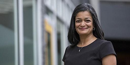 Conversation with Rep. Pramila Jayapal on Healthcare, Bernie, and Seattle!