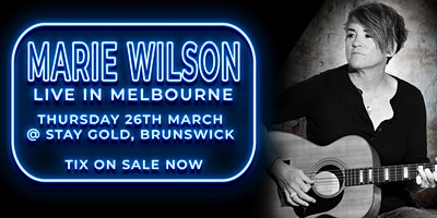 Marie Wilson in Melbourne