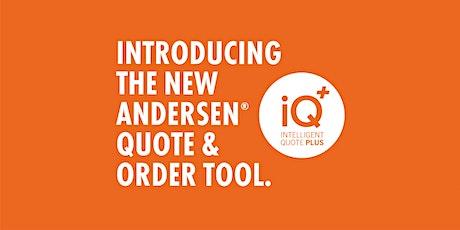 Andersen Windows iQ+ Training - Philadelphia, PA  Sessions tickets