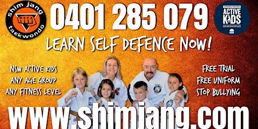 Shimjang Taekwondo Coolamon Open Day