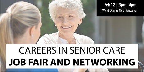 Careers in Senior Care: Job Fair & Networking tickets