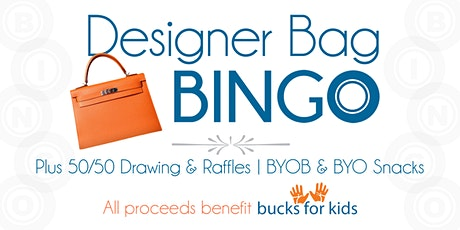 Designer Bag Bingo tickets