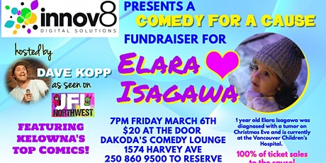Innov8 presents Comedy for a Cause for Elara Isagawa tickets