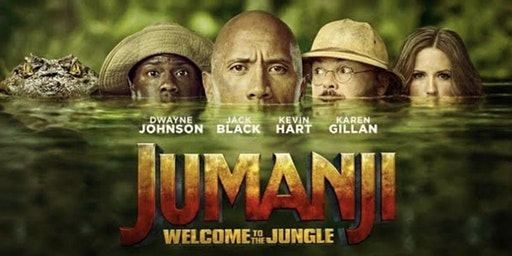 Dive In Movie - Jumunji Welcome to the Jungle