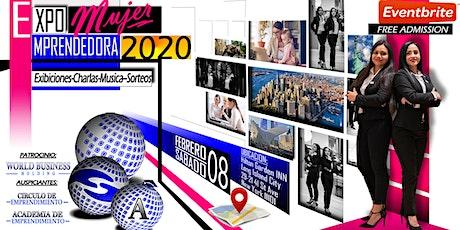 EXPO MUJER EMPRENDEDORA 2020 entradas