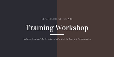 Leadership Scholars Training Workshop: Storytelling tickets