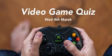 The Big Video Games Quiz 4th March tickets