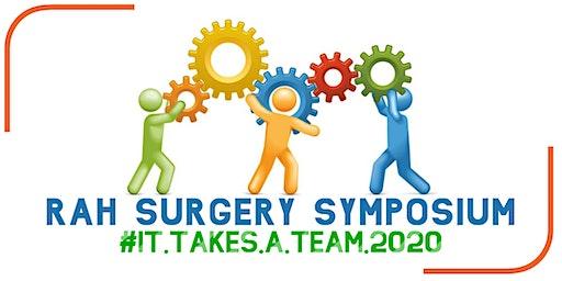 2020 RAH Surgery Symposium