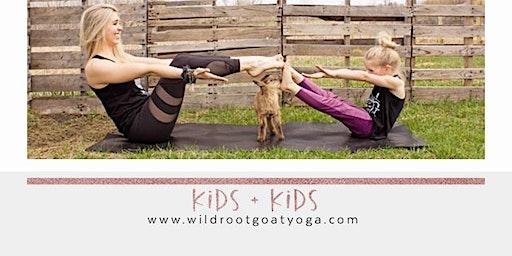 Kids + Kids Goat Yoga