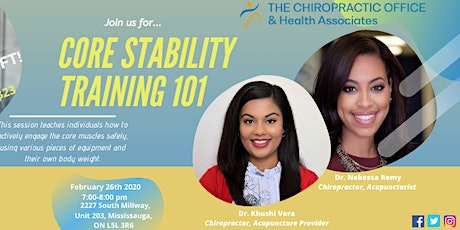 Core Stability 101 tickets