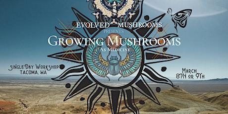 Cultivating Mushrooms as Medicine tickets