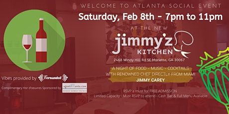 A Night of SABOR - Welcome to Atlanta JIMMY'z Kitchen tickets