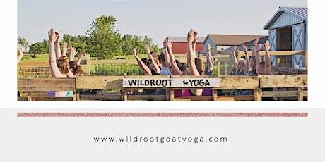Vinyasa Flow Goat Yoga tickets