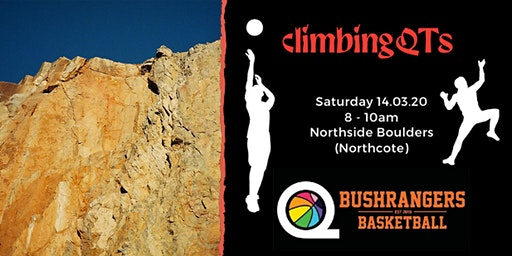 Bushrangers Basketball and ClimbingQTs Mixer