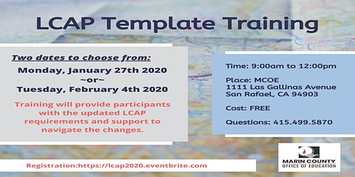 LCAP Template Training