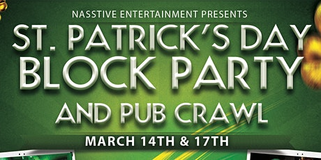 Long Beach St Patricks Day Block Party and Bar Crawl tickets