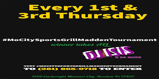 MoCity Sports Grill Game Night