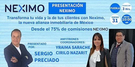 PRESENTACIÓN NEXIMO PUEBLA