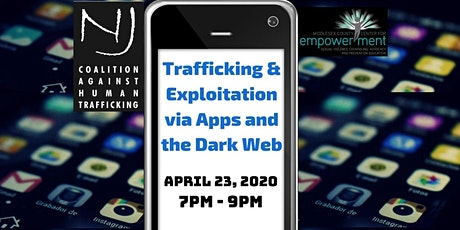 Trafficking & Exploitation via Apps and the Dark Web tickets