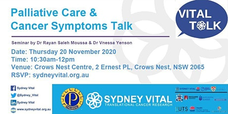 Palliative Care & Cancer Symptom Talk @ Probus Club Crows Nest tickets