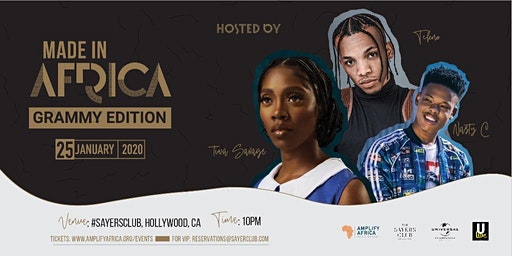 MADE IN AFRICA with Tekno, Tiwa Savage & Nasty C