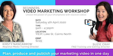 Beginners Video Marketing Workshop - Plan, Produce & Publish (Full day) tickets