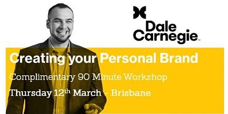 Create your Personal Brand in Business and Network for Success tickets