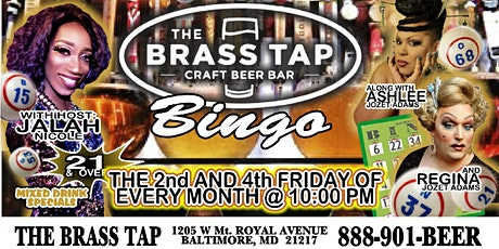 Drag  Queen Bingo Brass Tap Baltimore - February 28th Edition! tickets