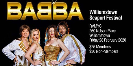 BABBA by the water tickets