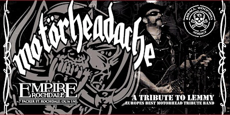 MOTORHEADACH´´E - A tribute to LEMMY tickets