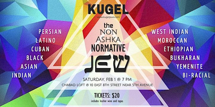 The non Ashka normative Jew image