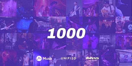 Muso 1000 Gigs Party tickets