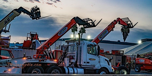 MEWPs Training and Certification for Telehandlers / Reach Forklifts