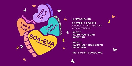 504eva ComedyShow & Benefit Crescent City Outreach tickets