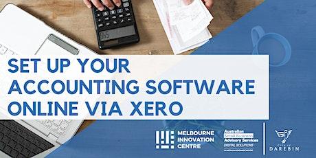 Set Up Your Accounting Software Online Via Xero - Darebin tickets