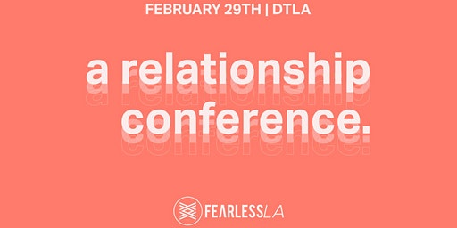 A Relationship Conference.