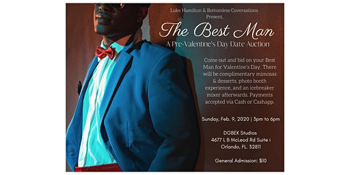 The Best Man: A Pre-Valentine's Day Date Auction
