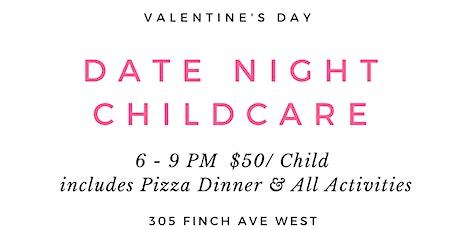 Valentine's Day Date Night Babysitting tickets