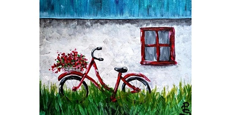 "3/16 - Corks and Canvas Event @ Pyramid Alehouse, Seattle ""Red Bike"" tickets"