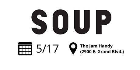 May Citywide SOUP tickets