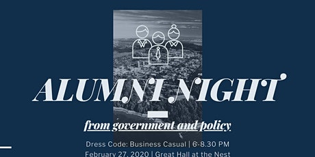 Careers In Policy: Network with Alumni  Presented by IRSA, PSSA & SPPGA	tickets